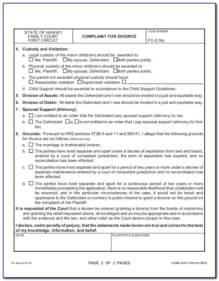 Clark County Wi Divorce Forms