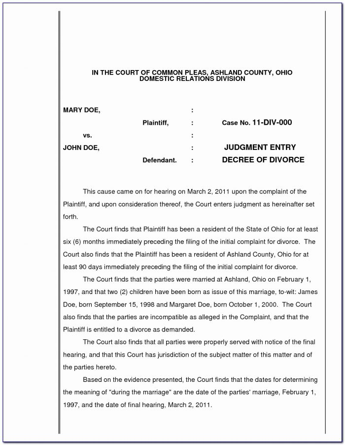 Cobb County Divorce Filing Fee