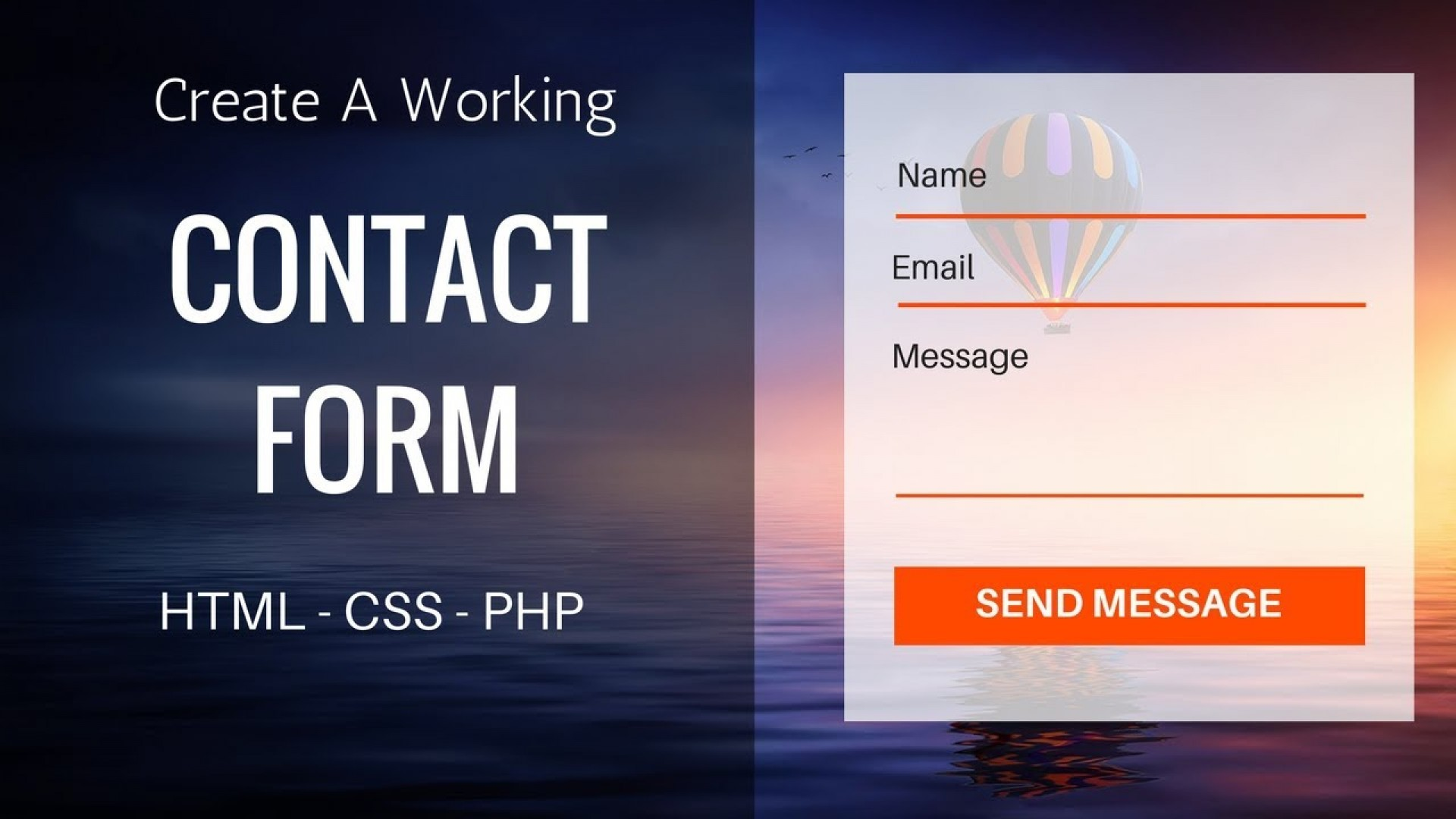 Contact Form With Recaptcha Html