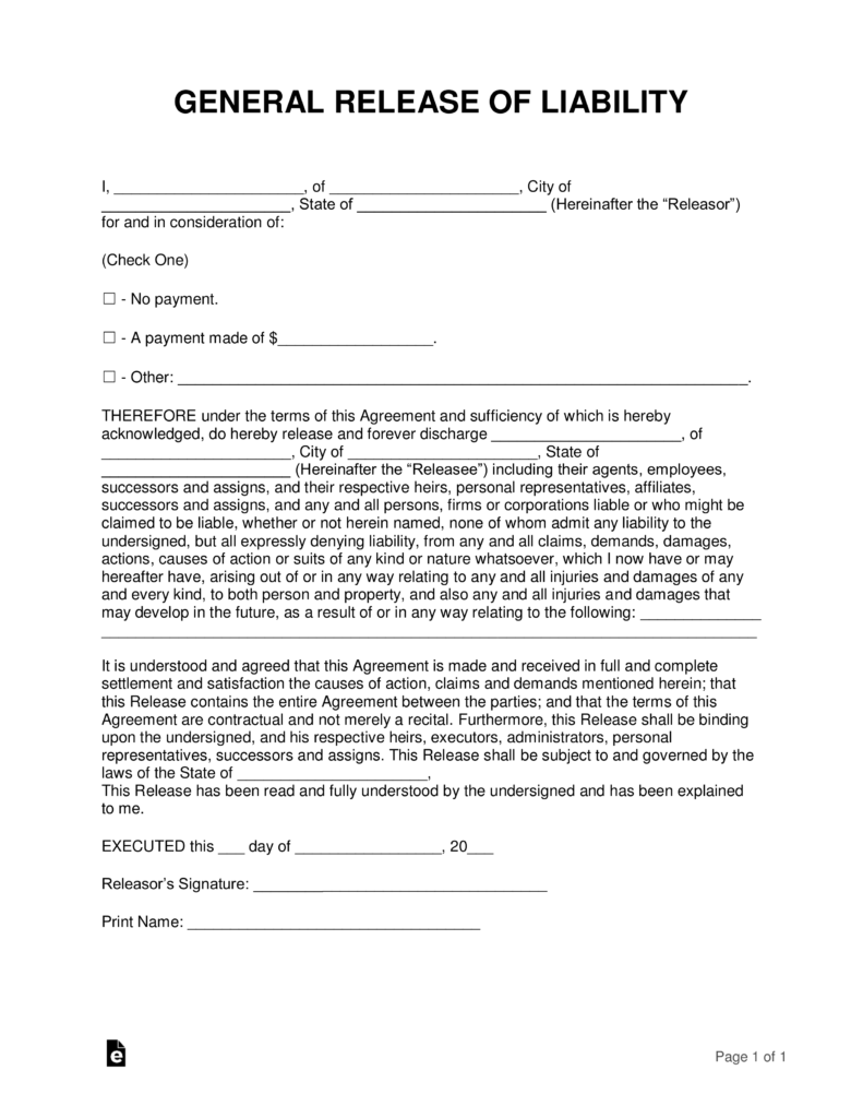 Contractor Lien Release Form Maryland