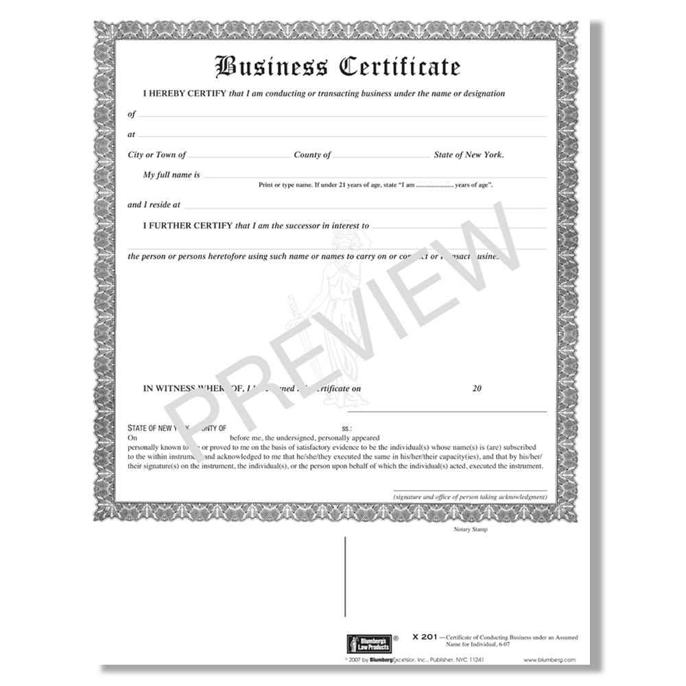 dba form ny county certificate x201 business blumberg pdf assumed suffolk wayne forms york trade company author
