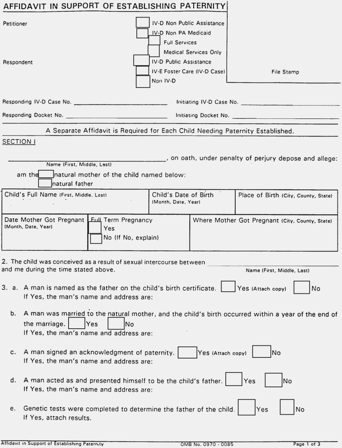 Decree Of Divorce Form Alabama