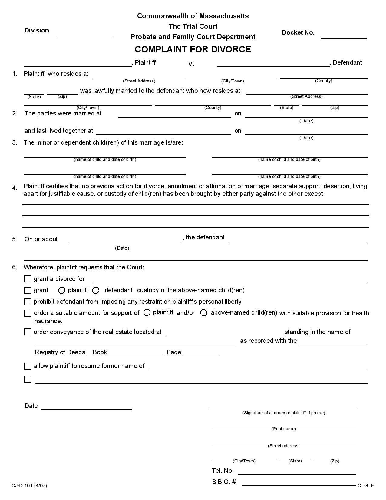 Delaware County Indiana Divorce Forms