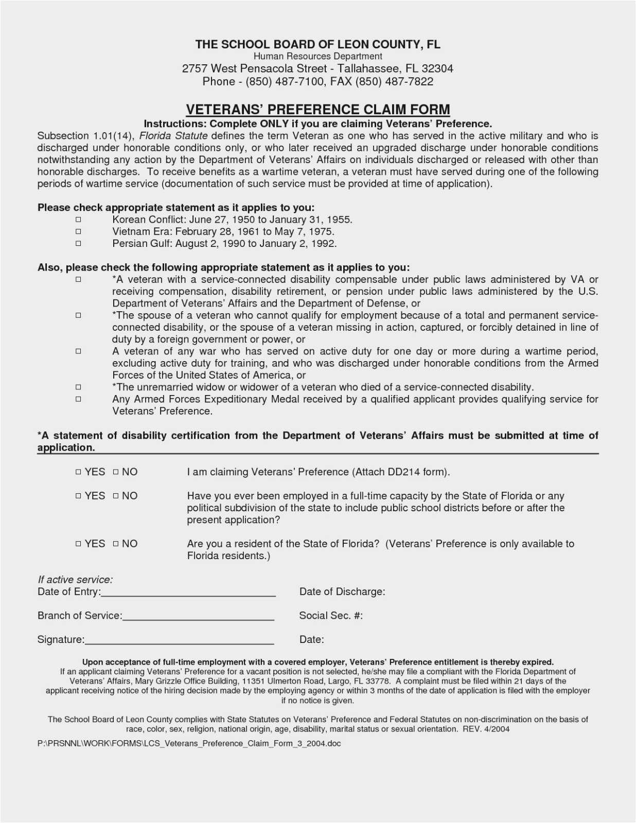 Va Form 21 4138 Sample Statement Of Veterans Administration Forms Format Awesome Va Certificate