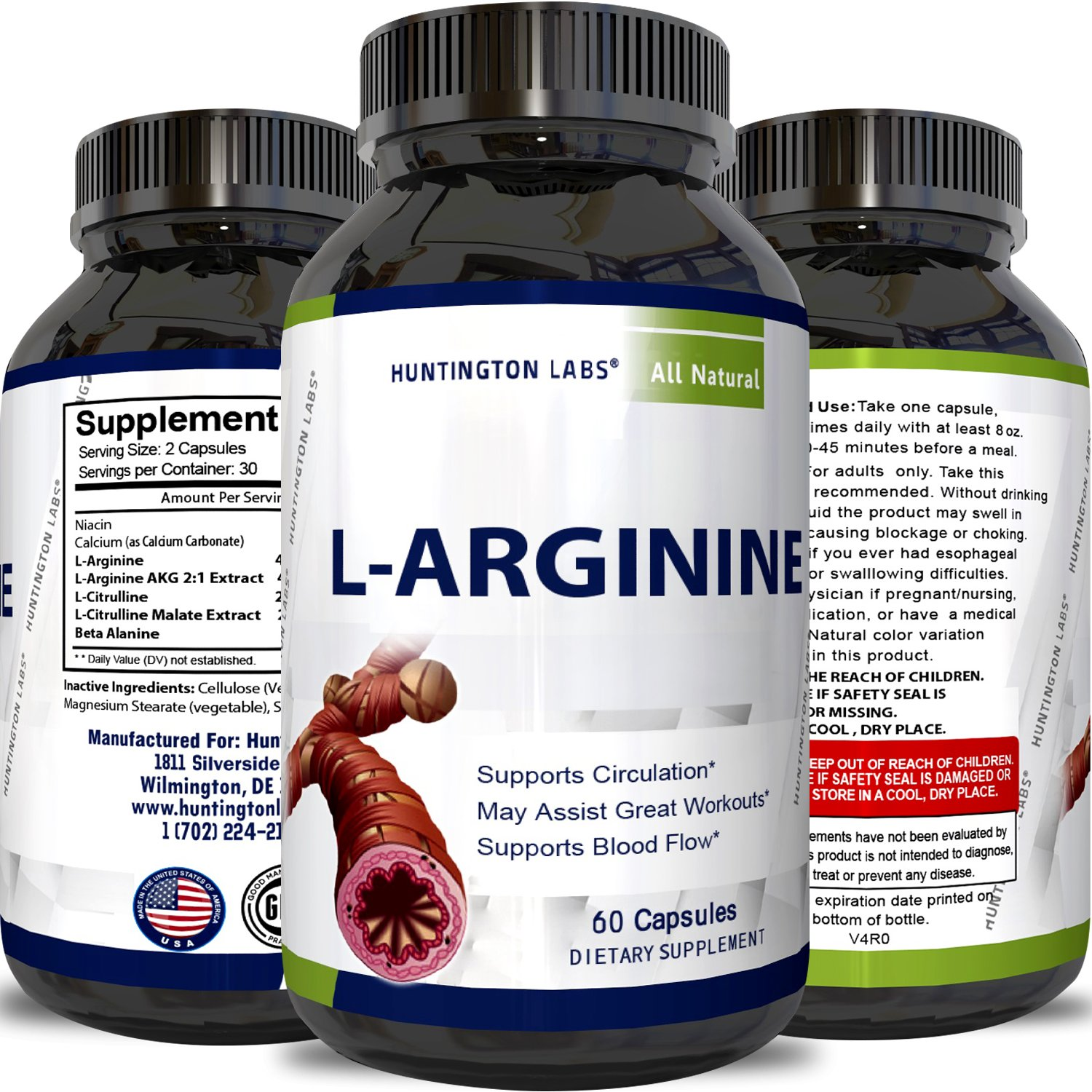 Difference Between L Arginine Free Form And Hydrochloride