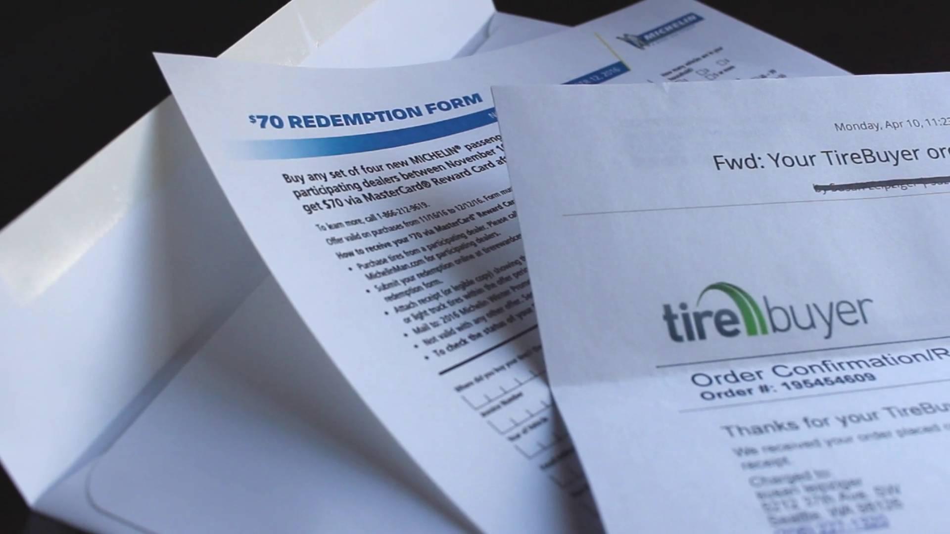 Discount Tire Direct Rebate Form