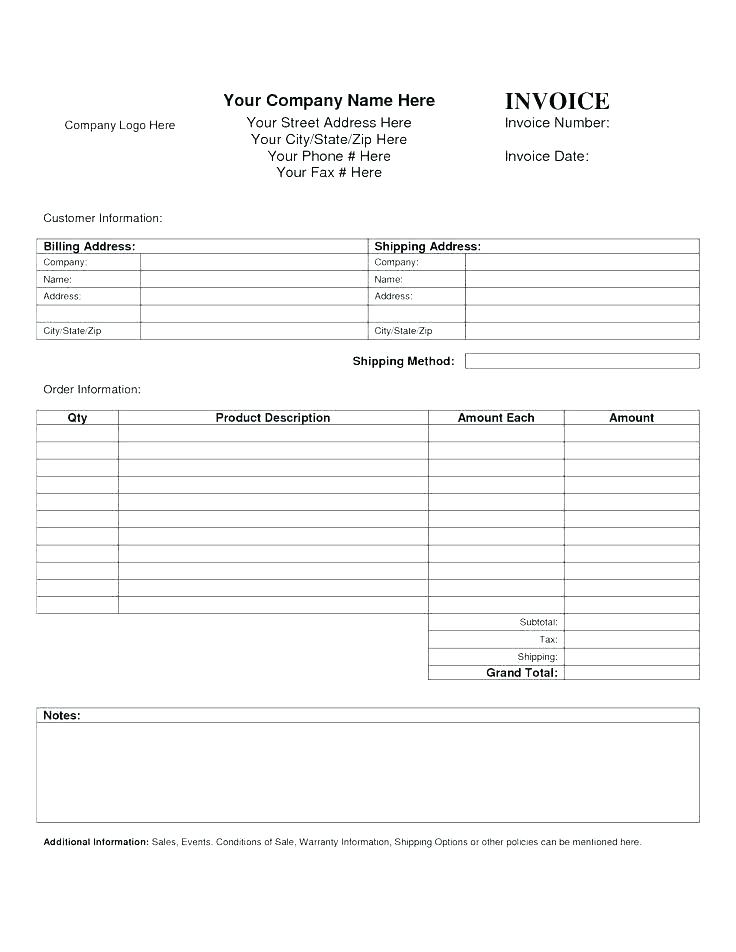 Download Free Printable Estimate Forms Online