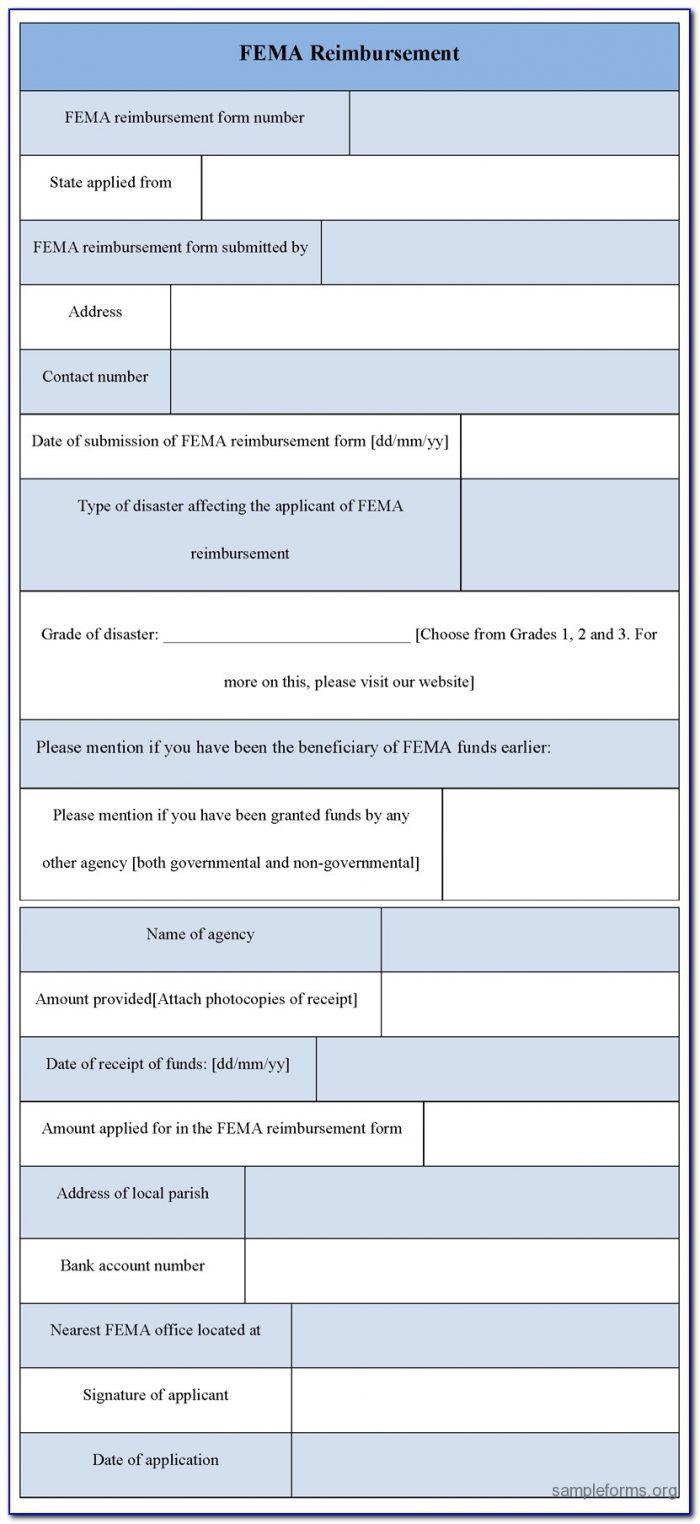 Fema Application Form Hurricane Florence