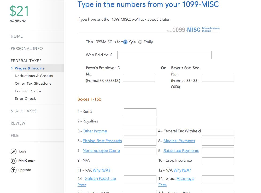 Fillable 1099 Misc Form 2014