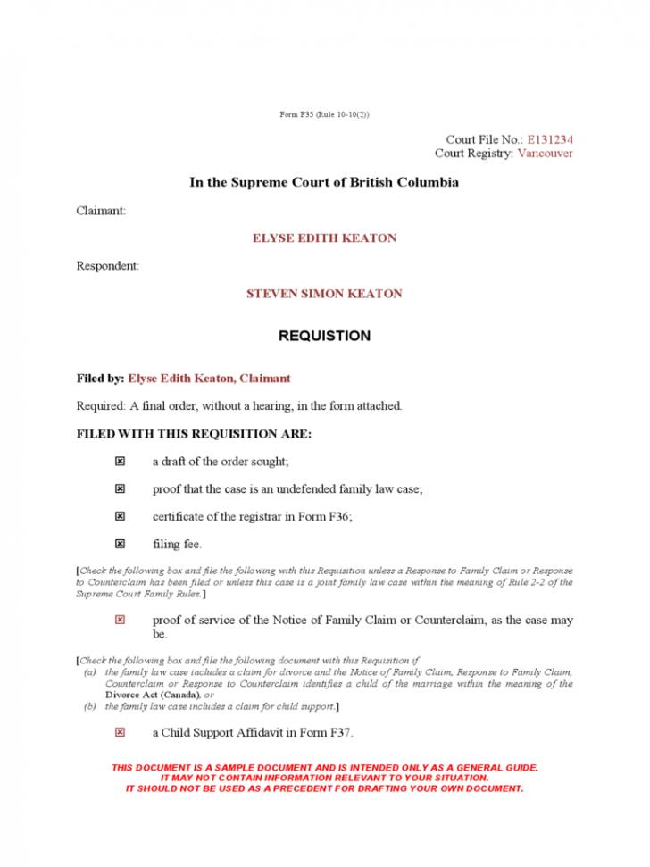 Final Decree Of Divorce Texas Template