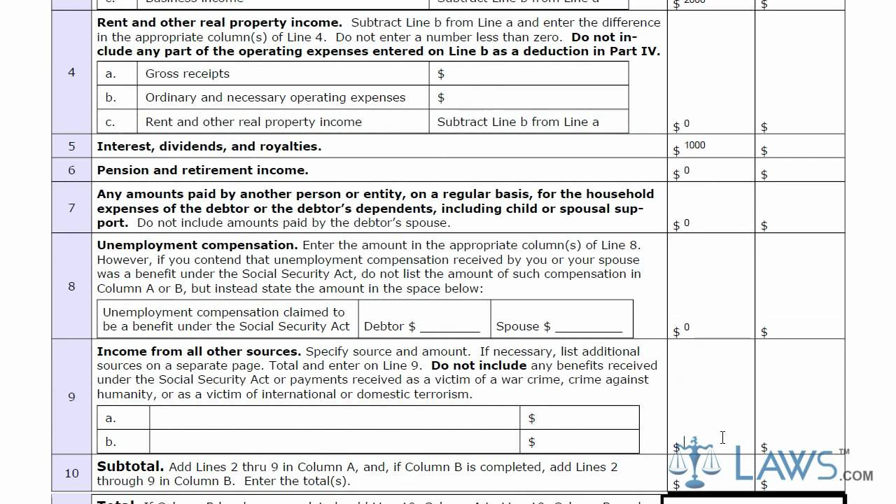 Florida Bankruptcy Chapter 13 Forms