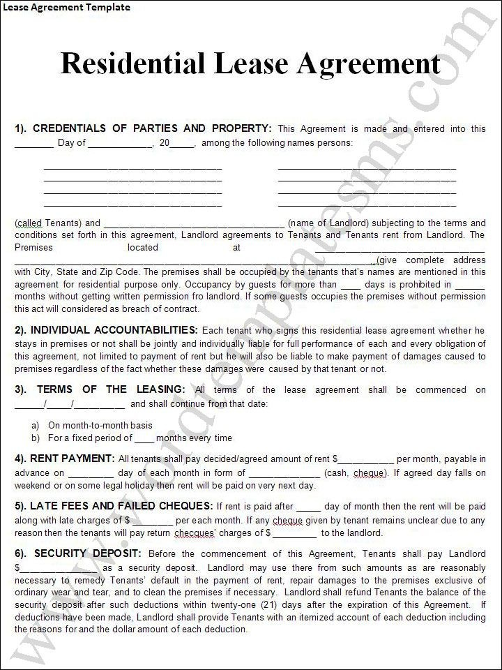 Texas Residential Lease Agreement Lovely 124 Best Rental Agreement Images On Pinterest