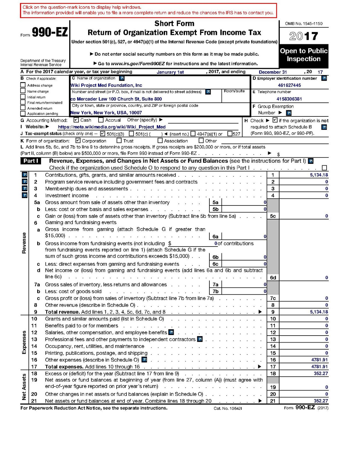 Form 990 Or 990 Ez Instructions