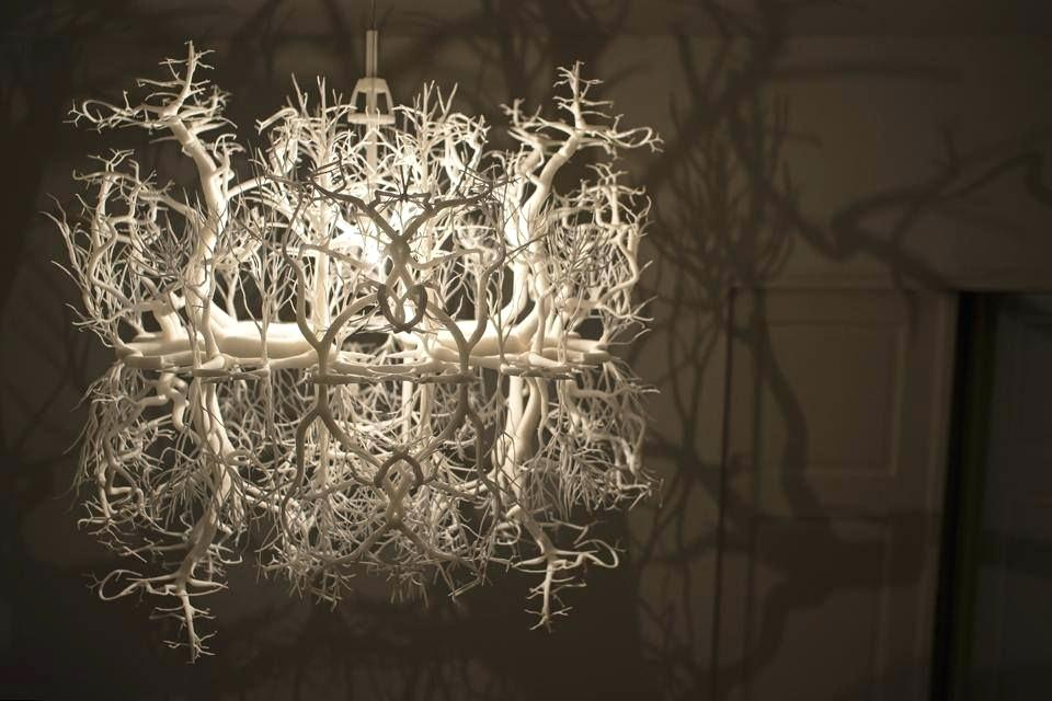 Forms In Nature Chandelier For Sale
