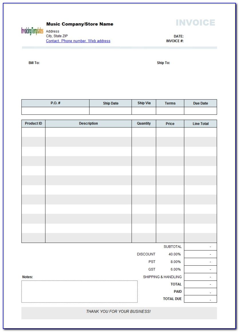 Free Invoice Forms Pdf Invoice Form Word Blank Invoice Template Free Editable Invoice Template