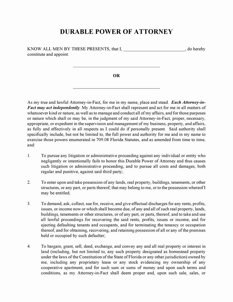 Free Blank Printable Medical Power Of Attorney Forms Awesome 49 Luxury Image Medical Power Attorney Form Florida