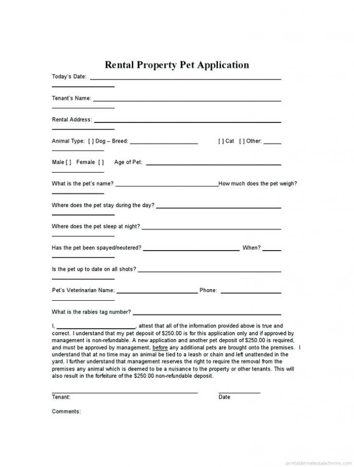 Free Land Lease Agreement Forms To Print