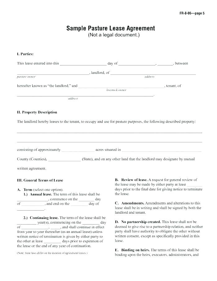 Free Landlord Tenant Lease Agreement Form Alberta