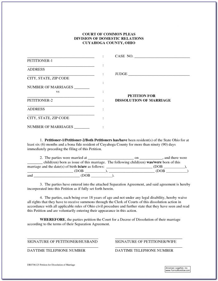 Free State Of Ohio Dissolution Forms