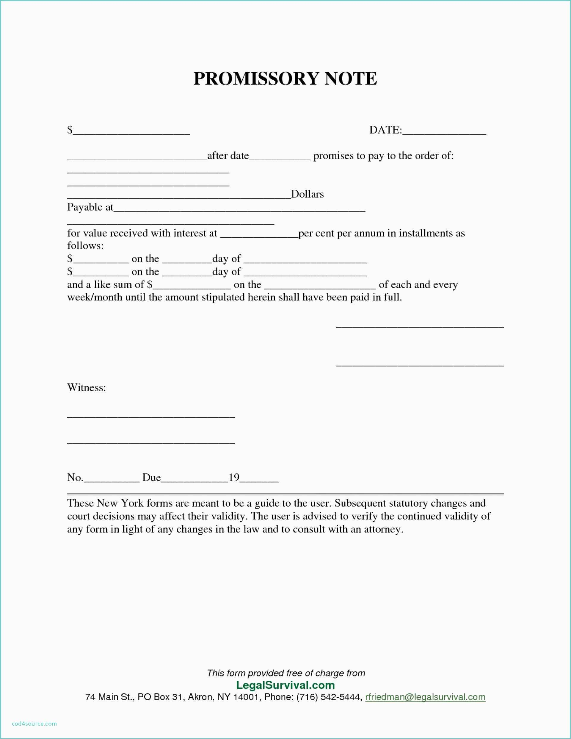 Free Promissory Note Template Promissory Note Template Form Dreaded Templates Georgia Format Pdf