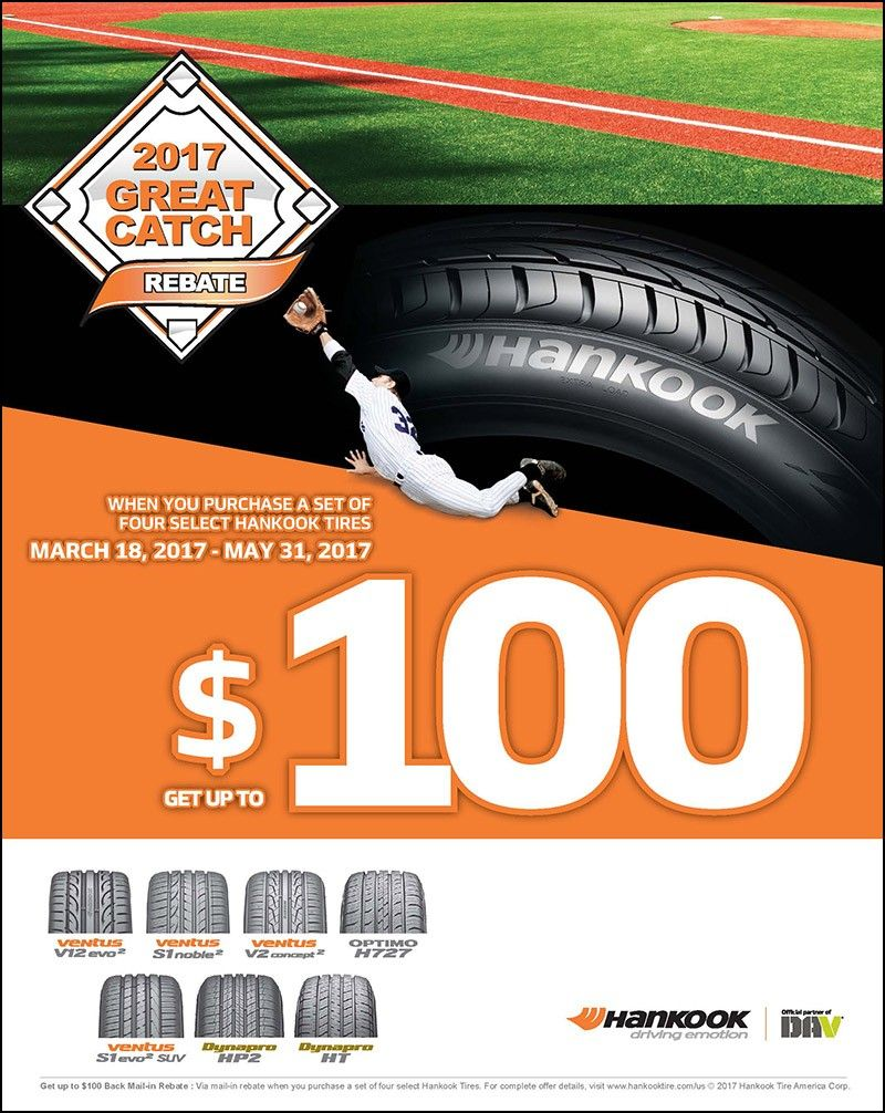 Hankook Tire Rebate Form