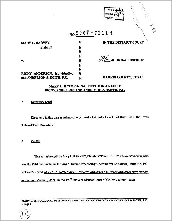 Harris County Divorce Filing Fees