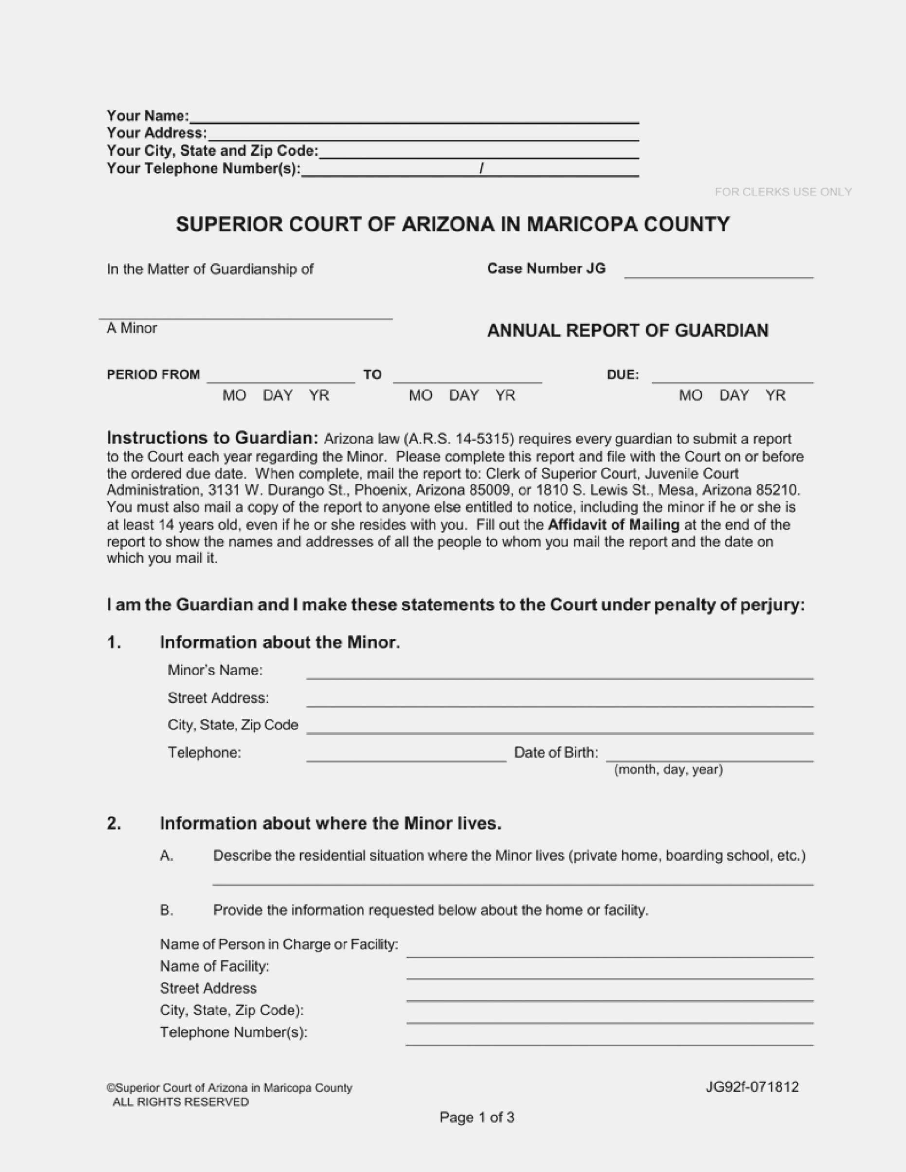 Harris County Texas Guardianship Forms