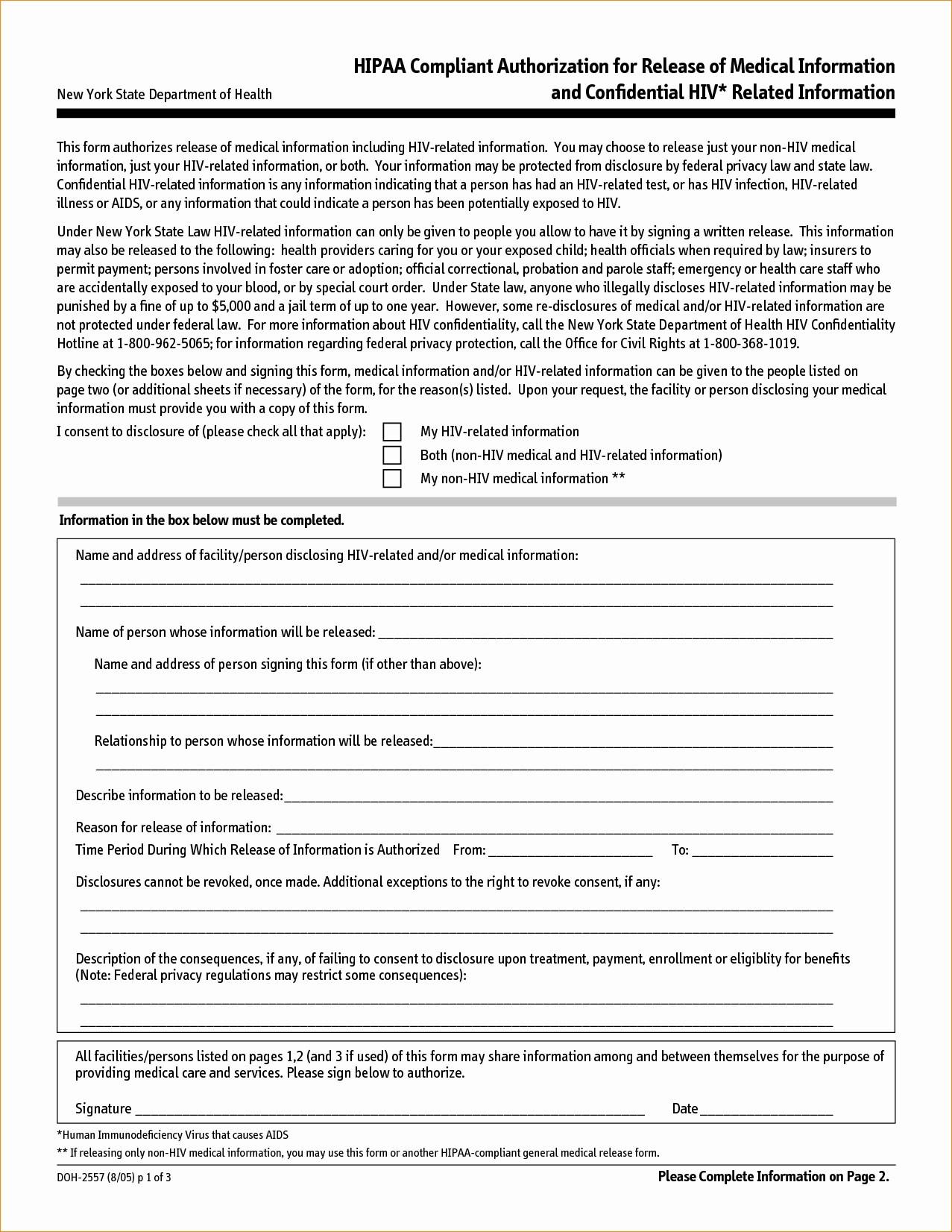 Hipaa Compliant Client Testimonial Authorization Form