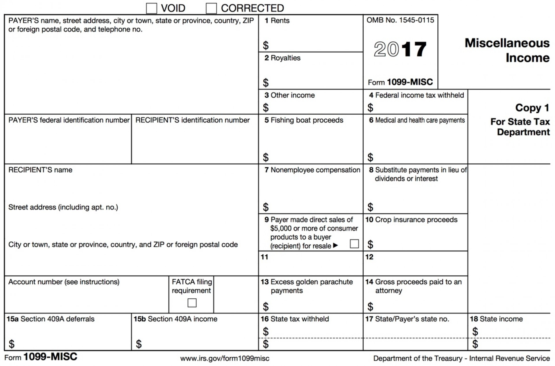 How To Fill Out 1099 Form Online
