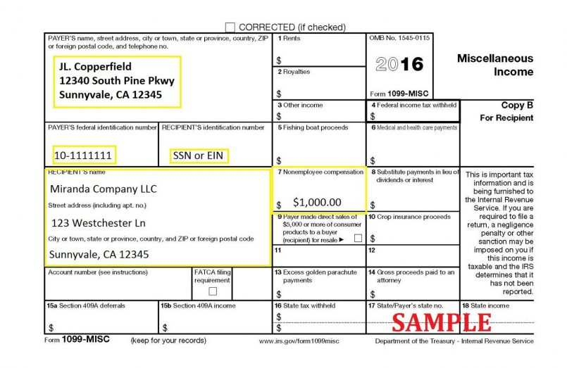 How To Fill Out A 1099 B Tax Form