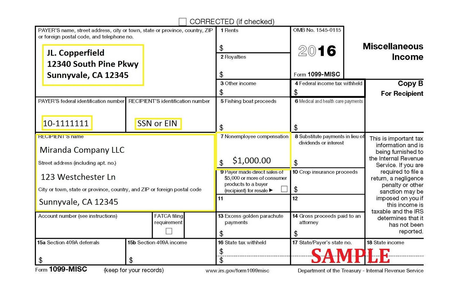 How To Fill Out A 1099 Misc Form For Employee