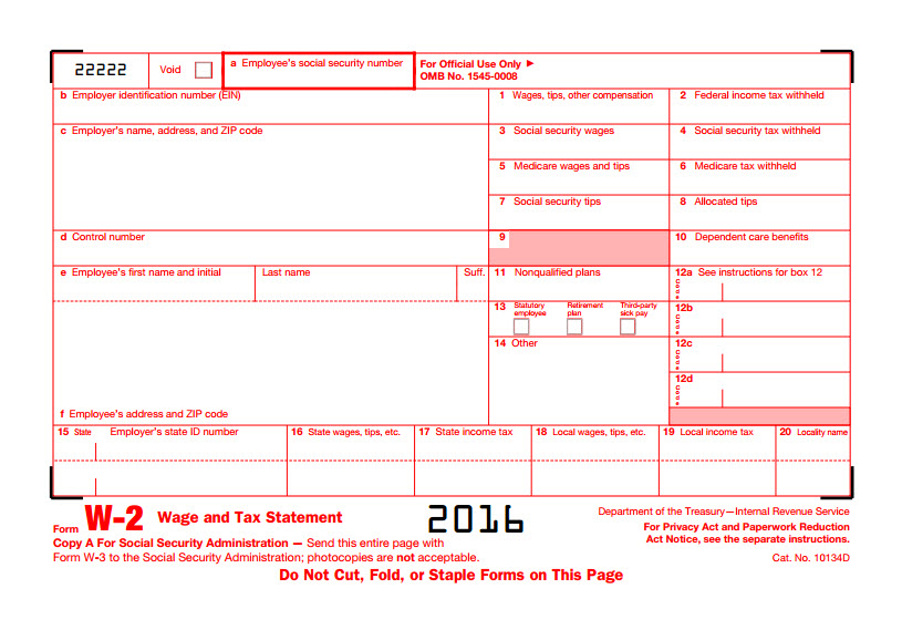 How To Obtain W2 Forms From Irs