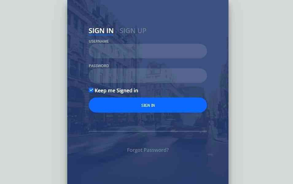 Html5 Css3 Registration Form Templates