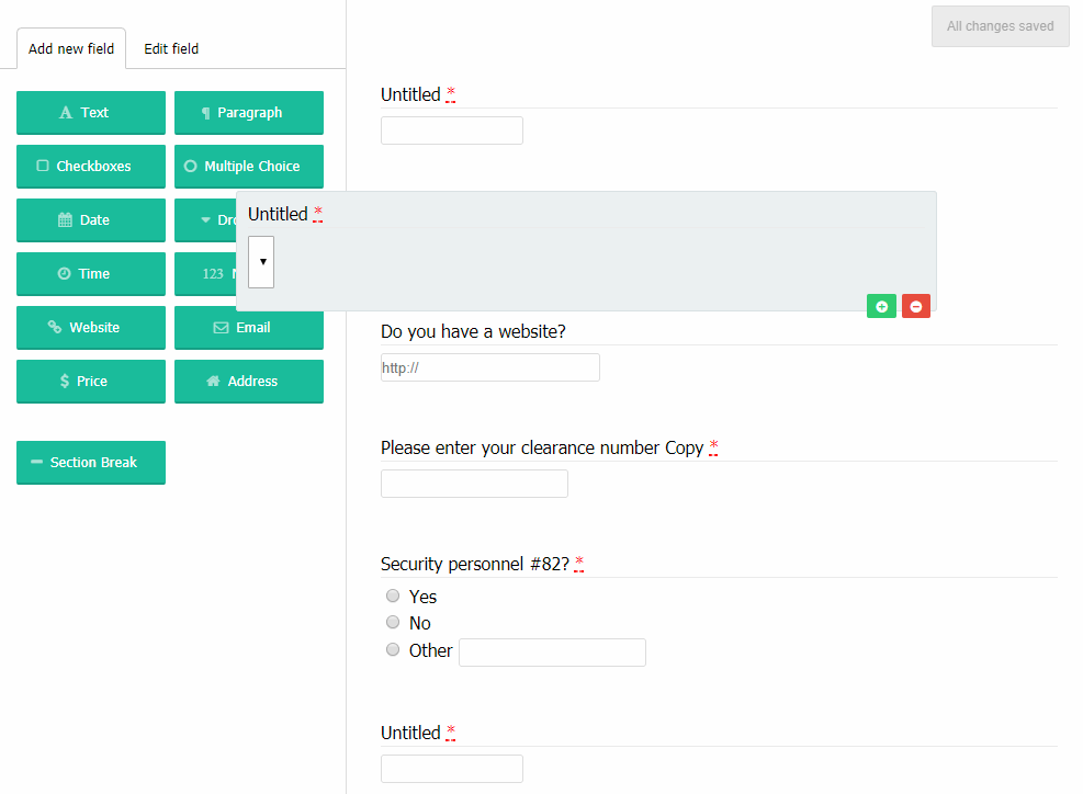 Html5 Form Builders