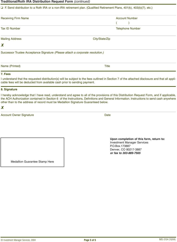 Ira Distribution Request Form John Hancock