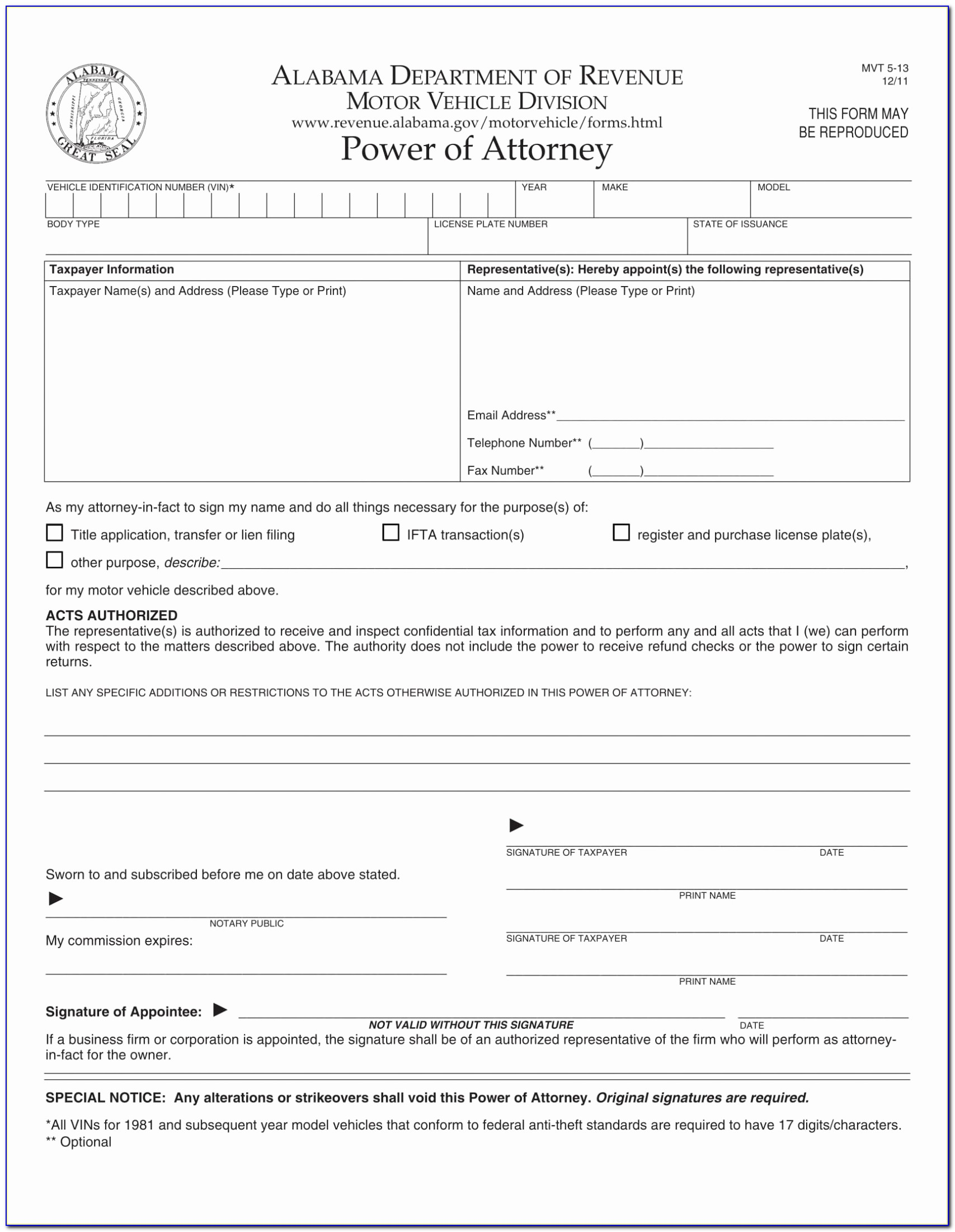 Florida Dmv Power Of Attorney Luxury Irrevocable Power Attorney Form Special Sample Dmv Nj