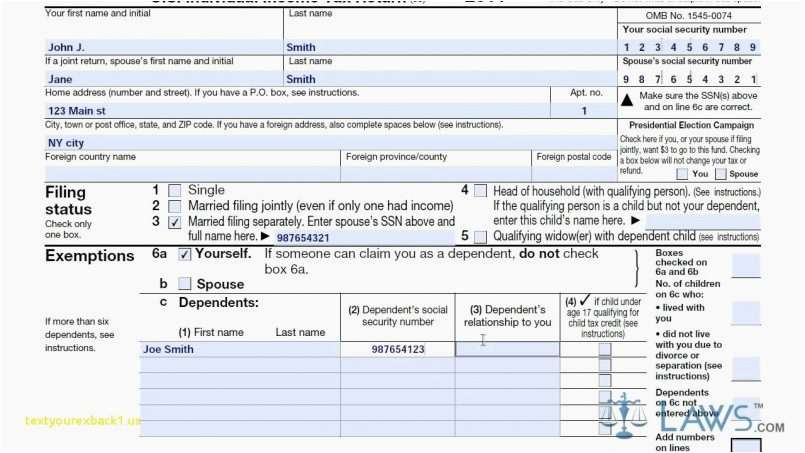 Irs 1040a Form Model Irs Form 1040a Instructions 2014 Image Collections Instructions