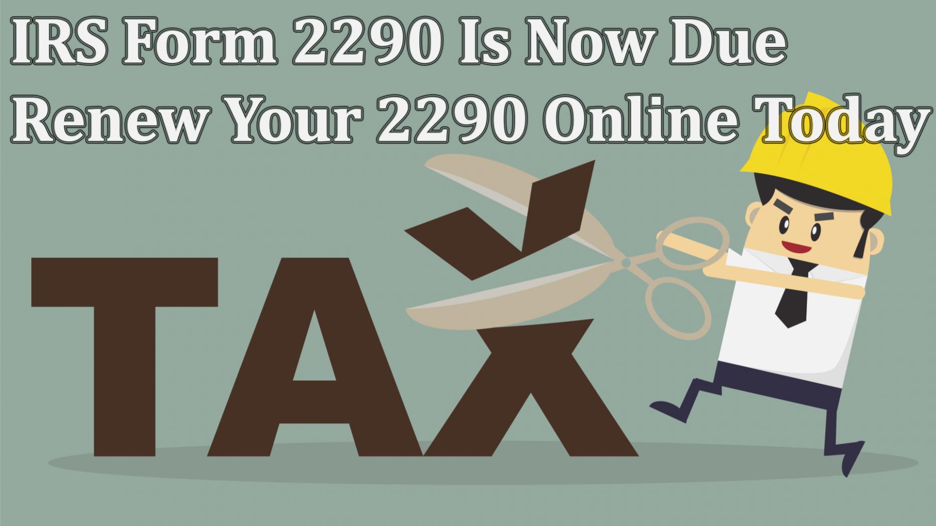 Irs.gov Form 2290