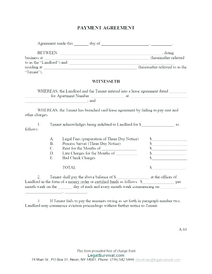 Landlord Tenant Lease Agreement Form Nl