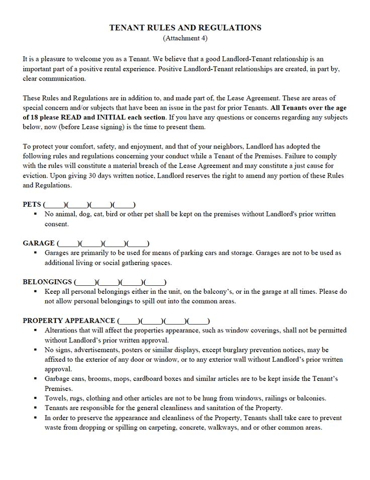 Landlord Tenant Pet Agreement Form