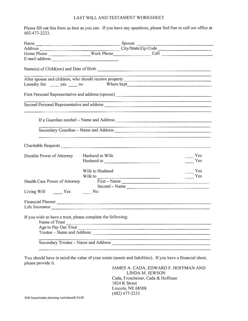 Free Printable Last Will And Testament Forms Ontario | Resume Examples In Last Will And Testament Blank Forms