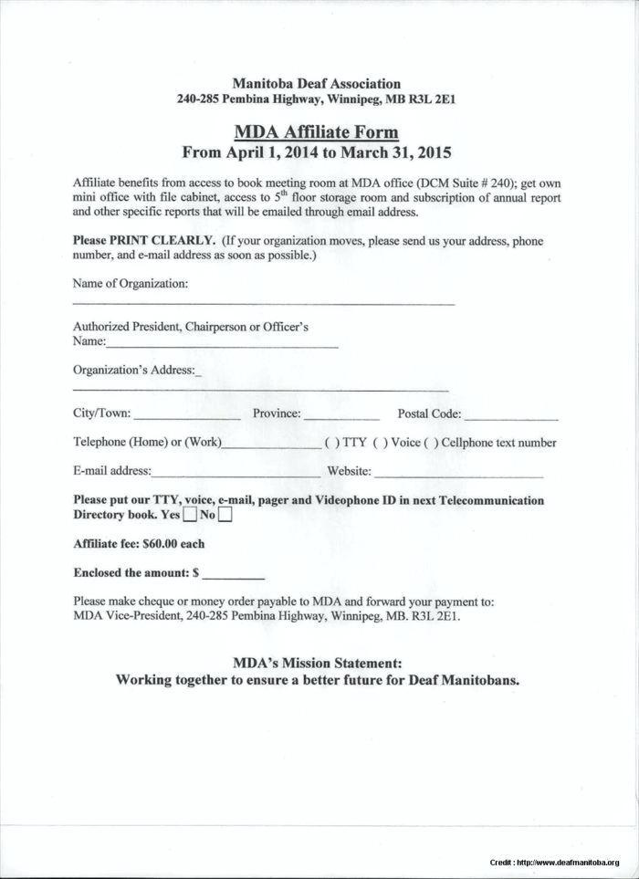Legal Separation Agreement Form Manitoba