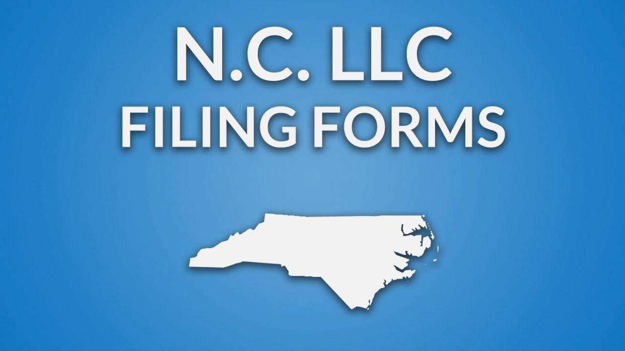 Llc Formation In North Carolina