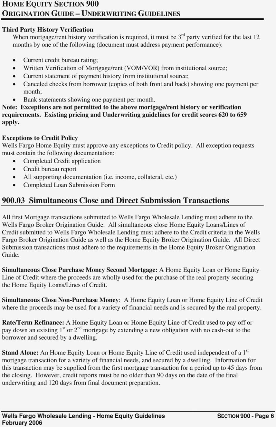 Loan Payoff Form Wells Fargo