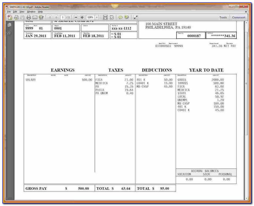 Mcdonalds Employee W2 Forms