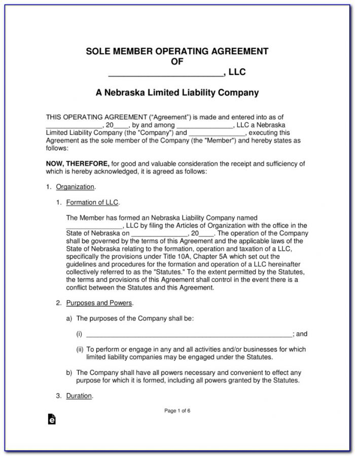 Nebraska Power Of Attorney Form 33