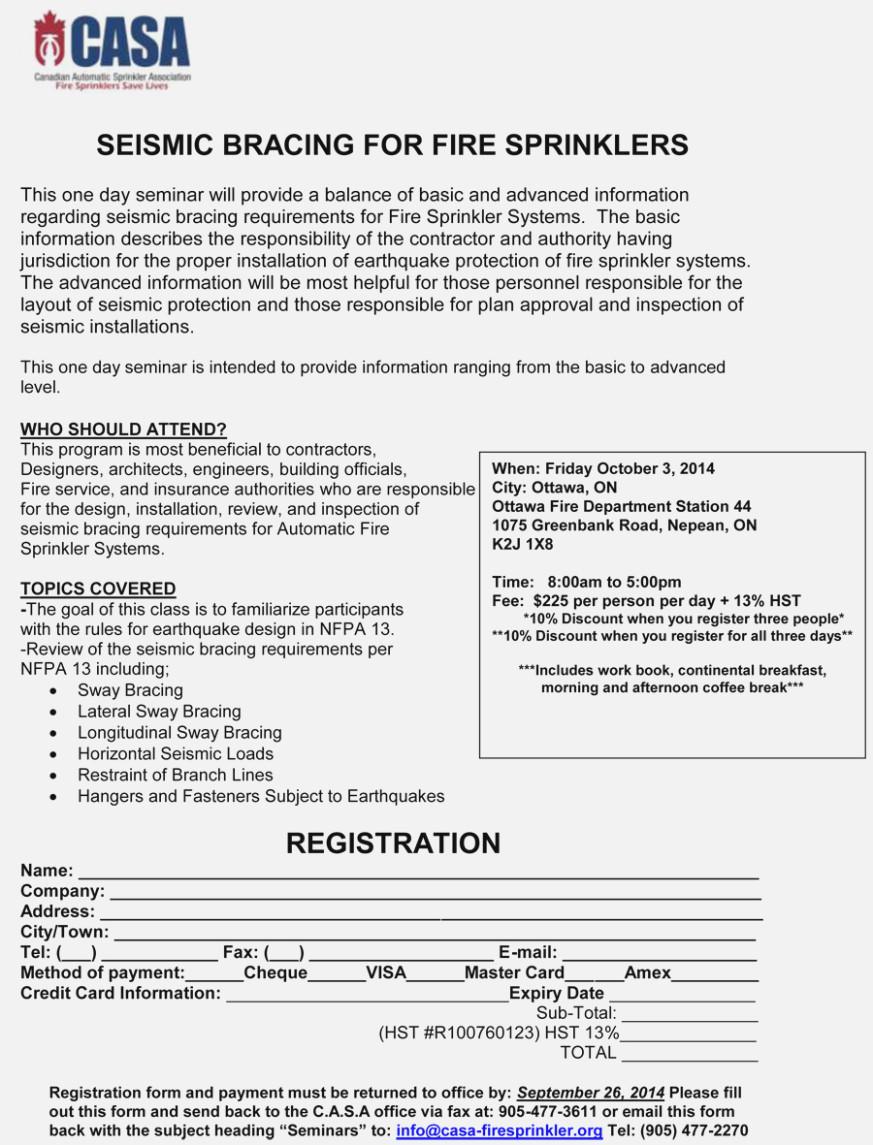 Nfpa Fire Sprinkler Inspection Forms