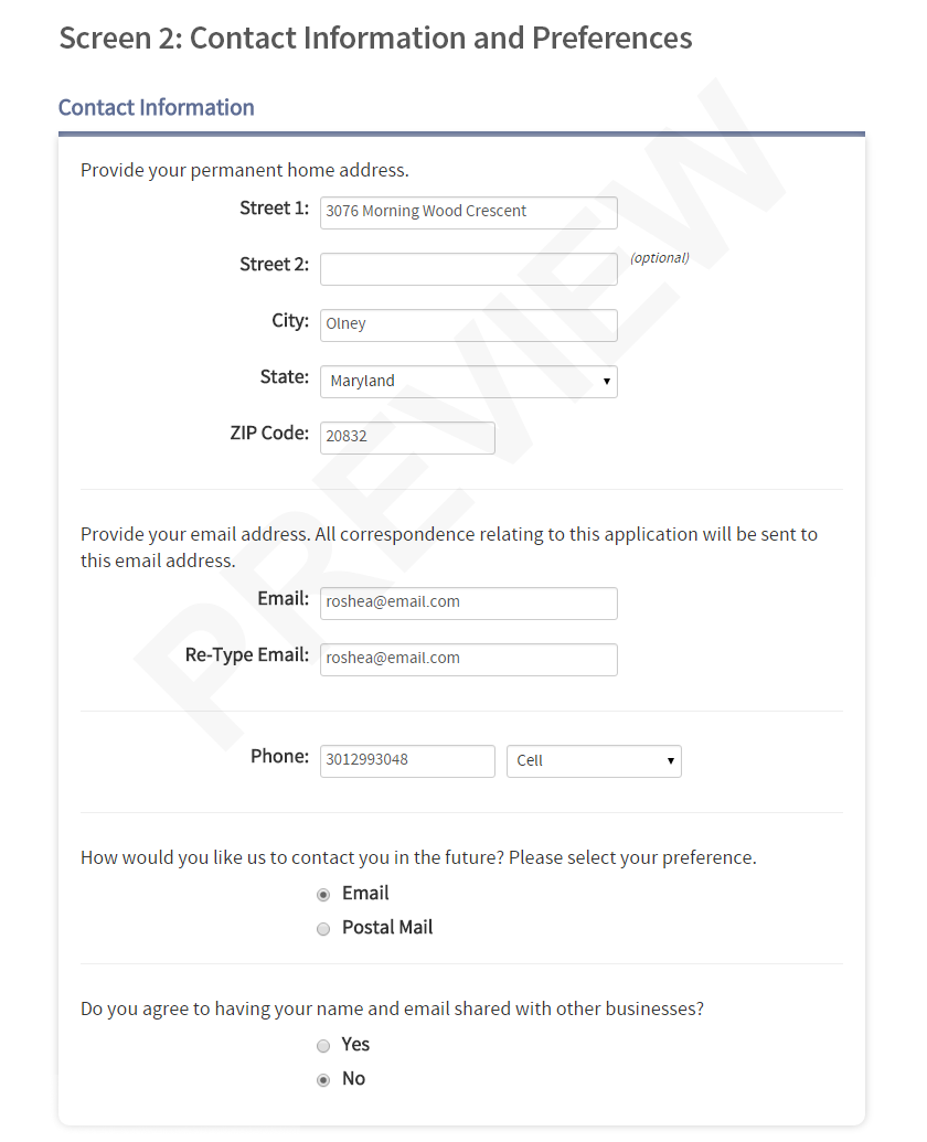 Notary Public Application Form Online