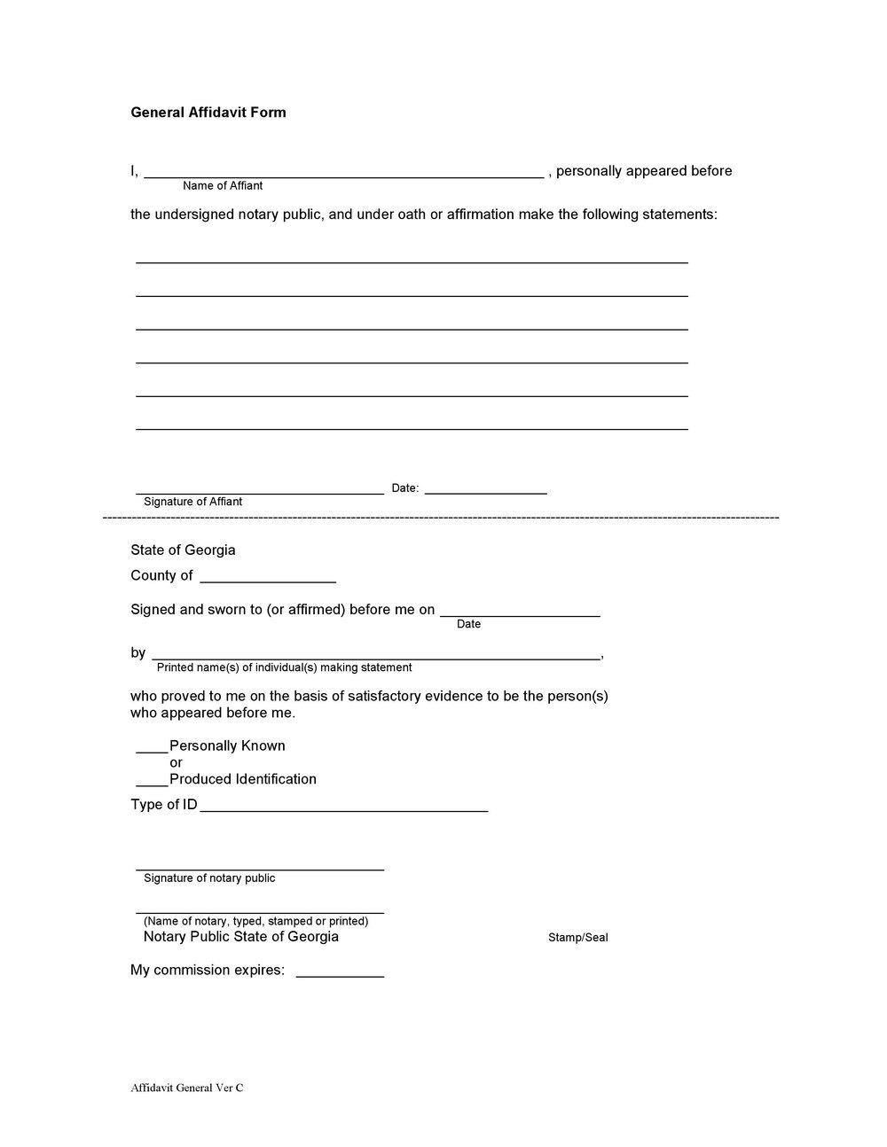 Notary Public Forms Louisiana
