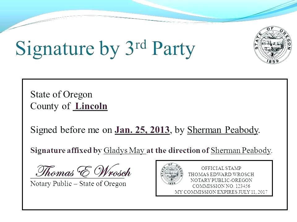 Notary Public Signature Form Illinois